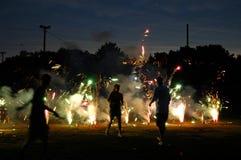 Trabajos nocturnos Fotos de archivo libres de regalías