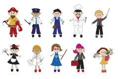 Trabalhador ilustração royalty free