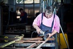 Trabalhador Imagem de Stock Royalty Free