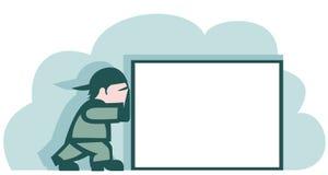 Trabalhador Ilustração Stock