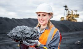 Trabalhador carbonoso fotografia de stock royalty free
