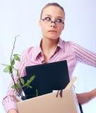 Trabalhador confundido Fotografia de Stock Royalty Free