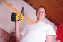 Trabalhador da construção Imagem de Stock