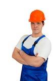 Trabalhador da construção Imagens de Stock