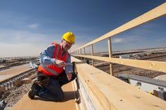 Trabalhador da construção Imagem de Stock Royalty Free