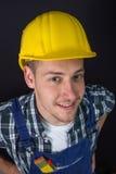 Trabalhador da construção foto de stock