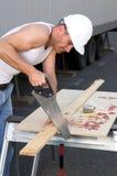 Trabalhador da construção Fotografia de Stock