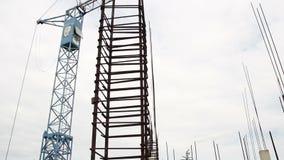 Trabalhador da construção em um curto intervalo filme