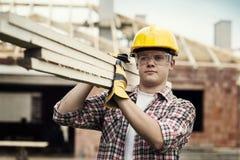 Trabalhador da construção Imagens de Stock Royalty Free