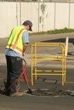 Trabalhador da rua Fotos de Stock Royalty Free