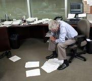 Trabalhador de escritório Fotos de Stock