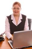 Trabalhador de escritório Imagem de Stock
