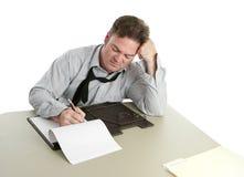 Trabalhador de escritório - concentração Imagem de Stock