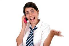 Trabalhador de escritório fêmea Foto de Stock