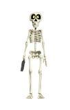 Trabalhador de esqueleto do negócio Imagem de Stock Royalty Free