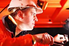 Trabalhador de mina Imagem de Stock Royalty Free