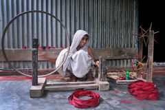trabalhador de mulher Imagem de Stock Royalty Free