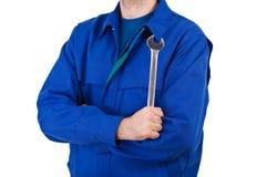 Trabalhador do colarinho azul. Imagens de Stock Royalty Free