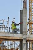 Trabalhador do edifício Imagem de Stock Royalty Free
