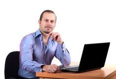 Trabalhador do escritório Imagens de Stock