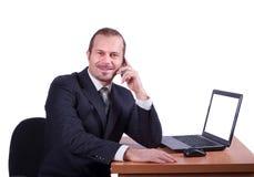 Trabalhador do escritório Imagem de Stock Royalty Free