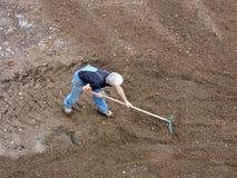 Trabalhador do jardim Imagens de Stock Royalty Free
