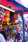 Trabalhador do jogo do carnaval Imagem de Stock Royalty Free