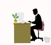 Trabalhador do negócio Imagens de Stock
