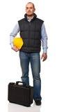 Trabalhador ereto Fotografia de Stock