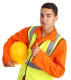 Trabalhador feliz Imagem de Stock Royalty Free