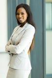 Trabalhador incorporado no escritório Imagem de Stock Royalty Free