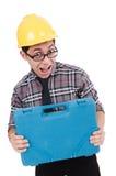 Trabalhador industrial isolado Imagens de Stock Royalty Free