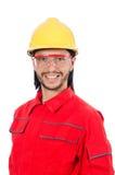Trabalhador industrial isolado Fotografia de Stock