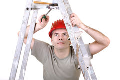Trabalhador manual Fotografia de Stock Royalty Free