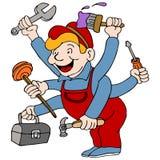 Trabalhador manual Imagem de Stock Royalty Free