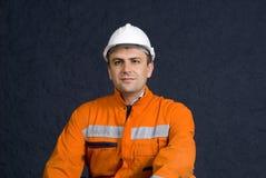 Trabalhador orgulhoso Imagens de Stock Royalty Free