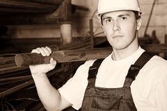 Trabalhador qualificado Imagem de Stock Royalty Free