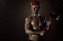 Trabalhador 'sexy' Foto de Stock Royalty Free