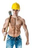 Trabalhador 'sexy' Imagem de Stock Royalty Free