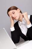Trabalhador Tired Fotos de Stock Royalty Free