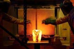 Trabalhadores da indústria do ouro Foto de Stock Royalty Free
