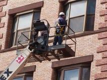 Trabalhadores da manutenção Foto de Stock Royalty Free