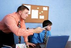 Trabalhadores de escritório Fotos de Stock Royalty Free