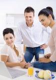 Trabalhadores de escritório Imagem de Stock Royalty Free