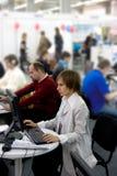 Trabalhadores de escritório Imagem de Stock