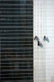 Trabalhadores do edifício Imagens de Stock