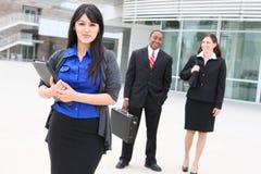Trabalhadores do negócio no escritório Imagem de Stock
