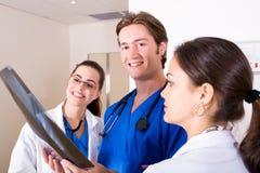 Trabalhadores médicos Fotografia de Stock Royalty Free