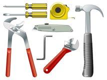 Trabalhe ferramentas ilustração stock