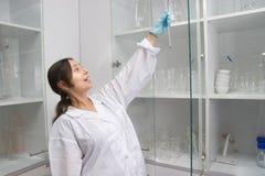 Trabalhe no laboratório Imagens de Stock